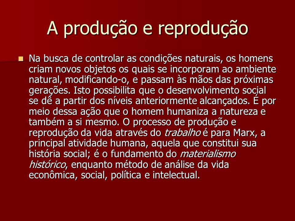 A produção e reprodução