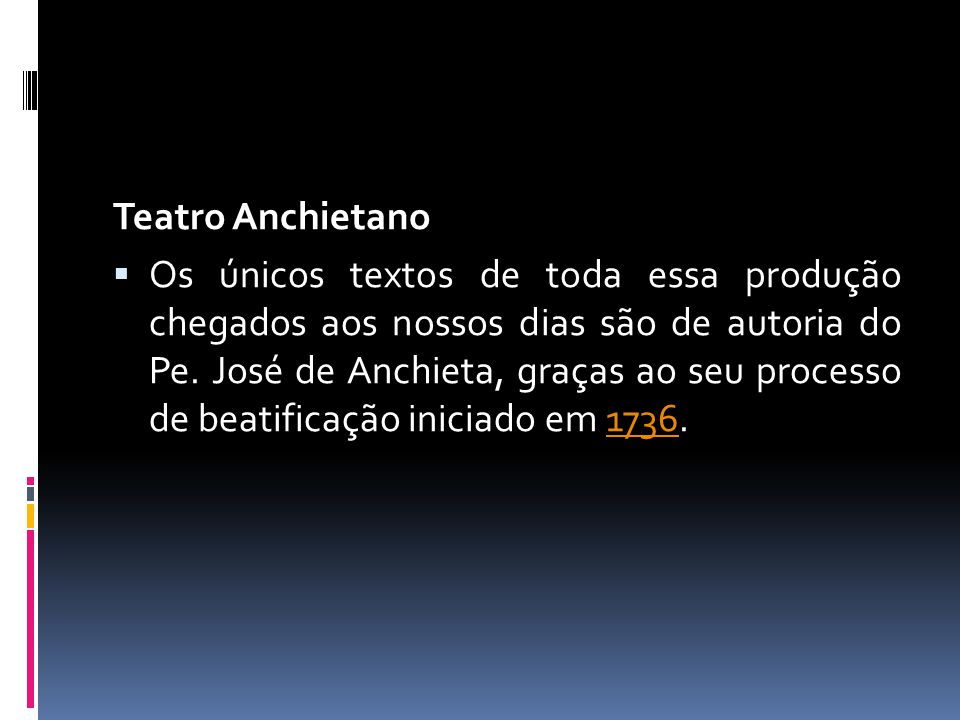 Teatro Anchietano