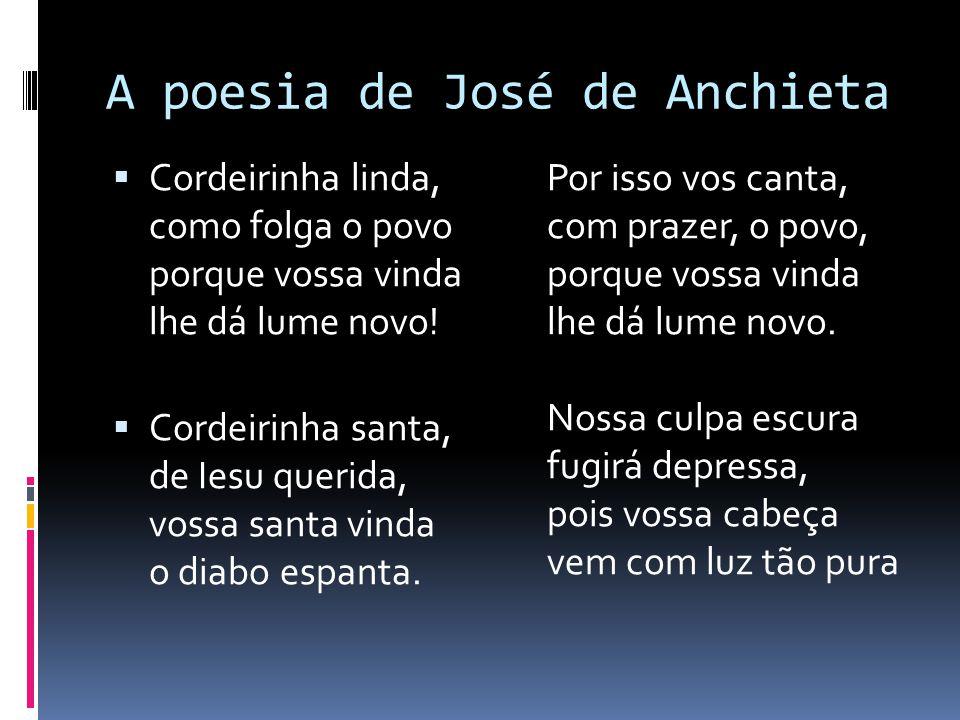 A poesia de José de Anchieta