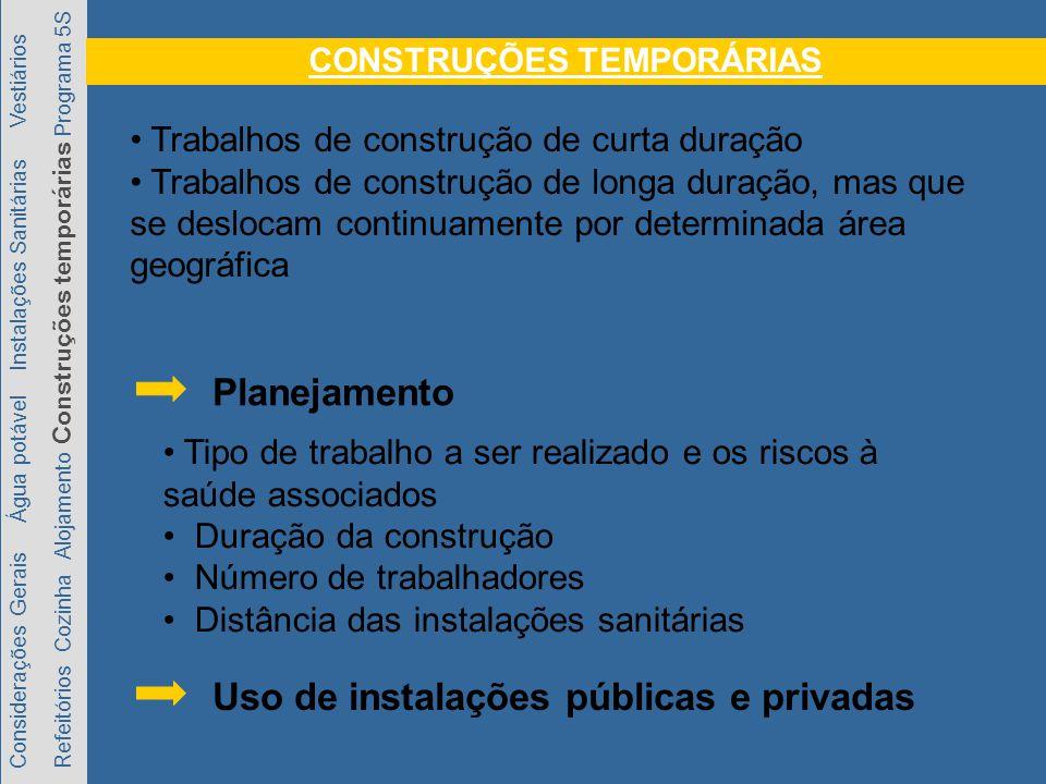 CONSTRUÇÕES TEMPORÁRIAS