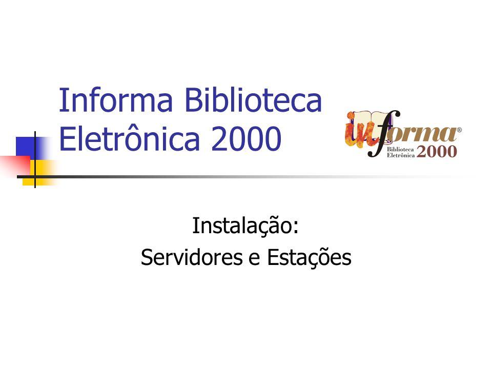 Informa Biblioteca Eletrônica 2000
