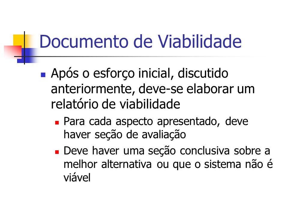 Documento de Viabilidade