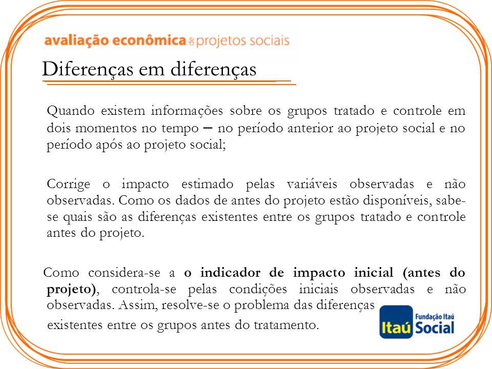 Diferenças em diferenças
