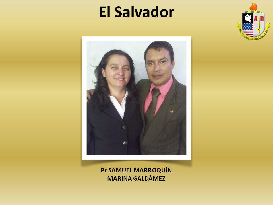 El Salvador Pr SAMUEL MARROQUÍN MARINA GALDÁMEZ