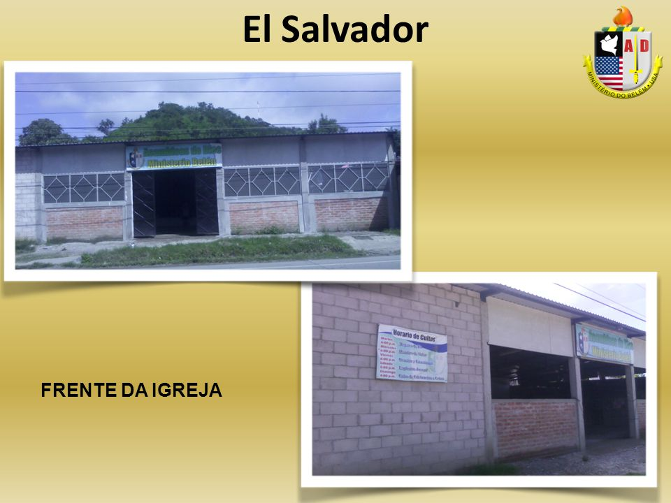 El Salvador FRENTE DA IGREJA