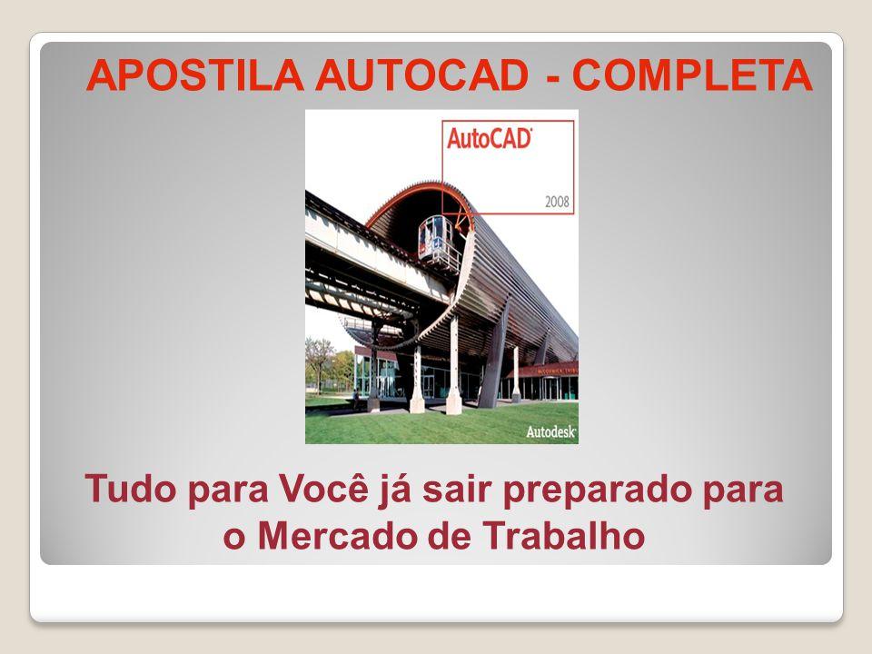 APOSTILA AUTOCAD - COMPLETA