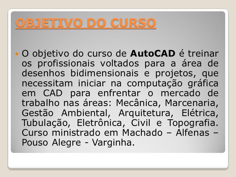 OBJETIVO DO CURSO