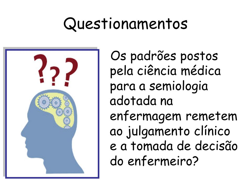 Questionamentos