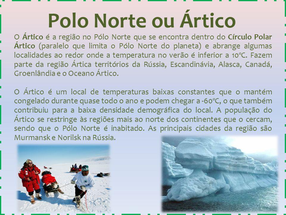 Polo Norte ou Ártico
