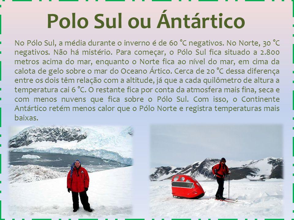 Polo Sul ou Ántártico