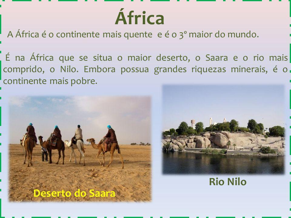 África Rio Nilo Deserto do Saara