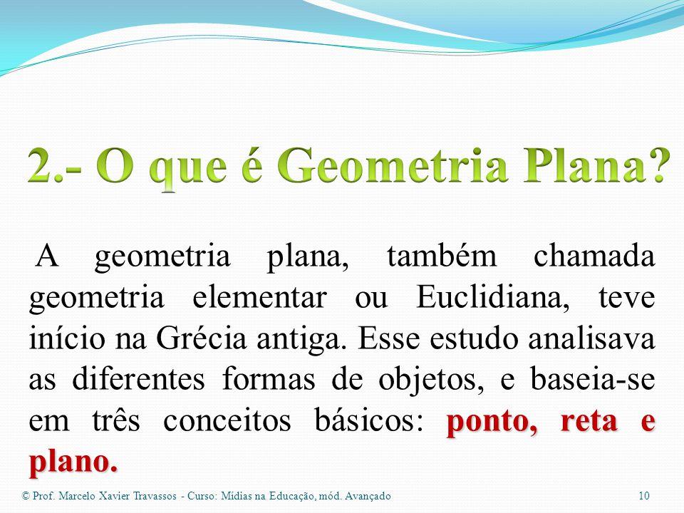 2.- O que é Geometria Plana