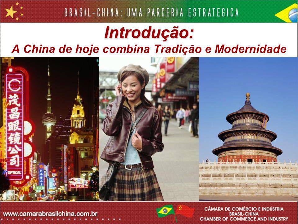Introdução: A China de hoje combina Tradição e Modernidade