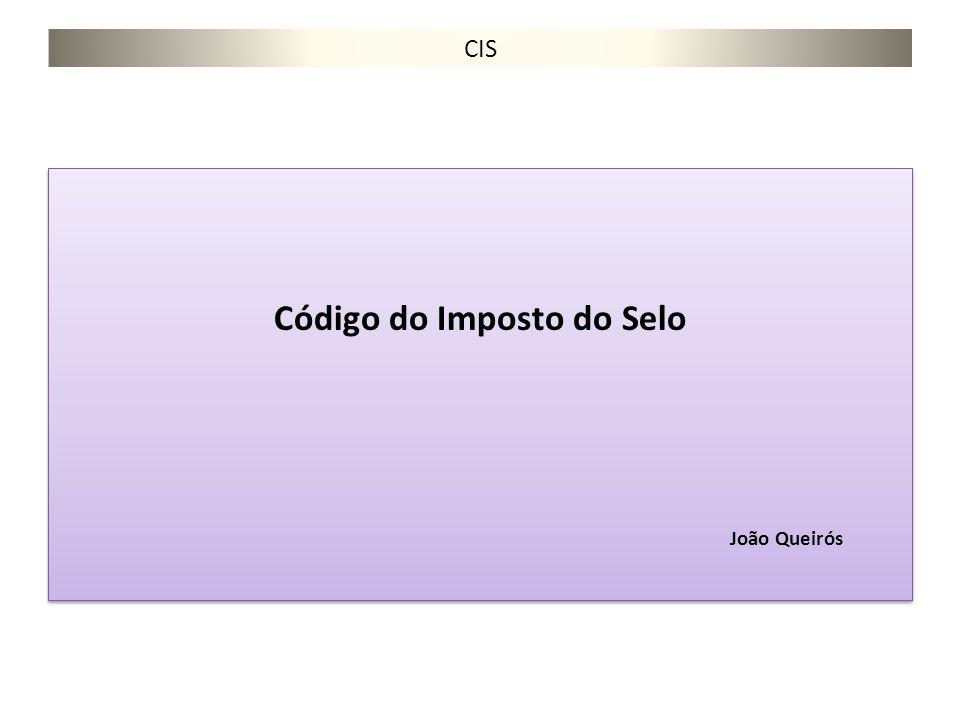 Código do Imposto do Selo João Queirós