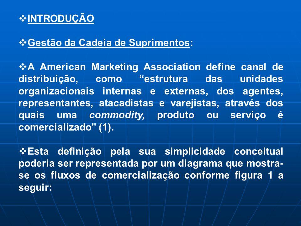 INTRODUÇÃO Gestão da Cadeia de Suprimentos: