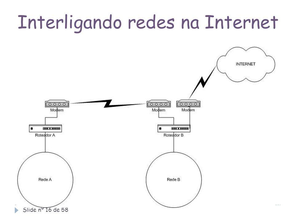 Interligando redes na Internet