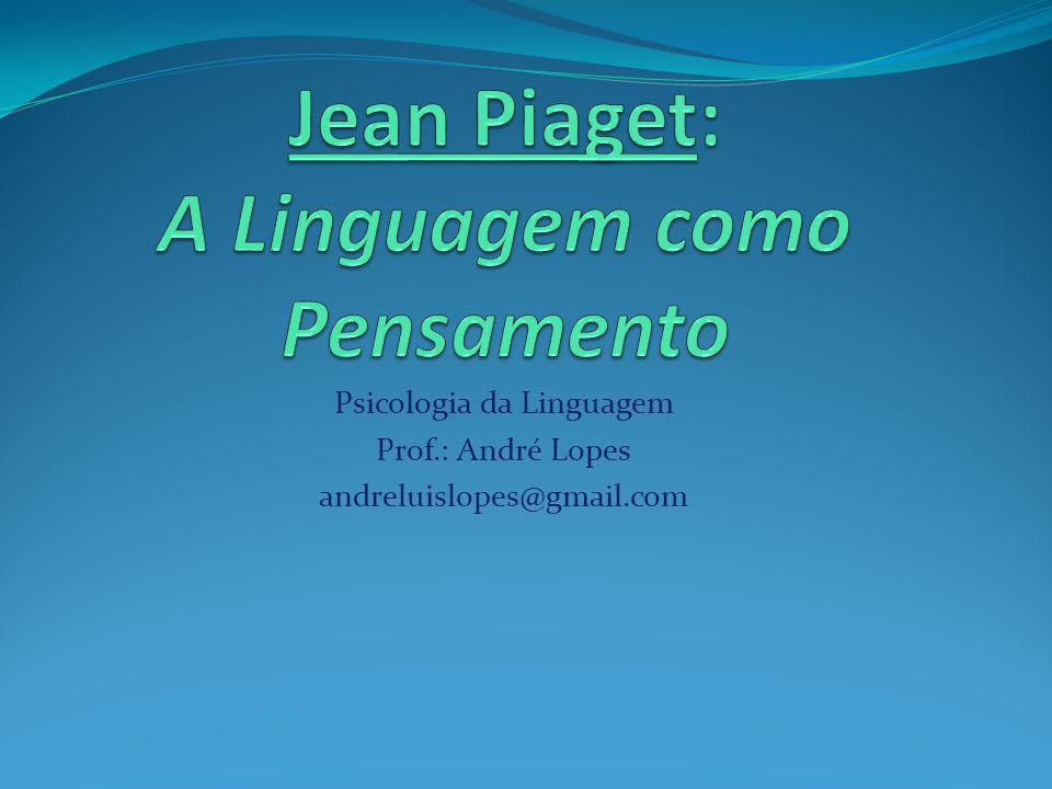 Jean Piaget: A Linguagem como Pensamento
