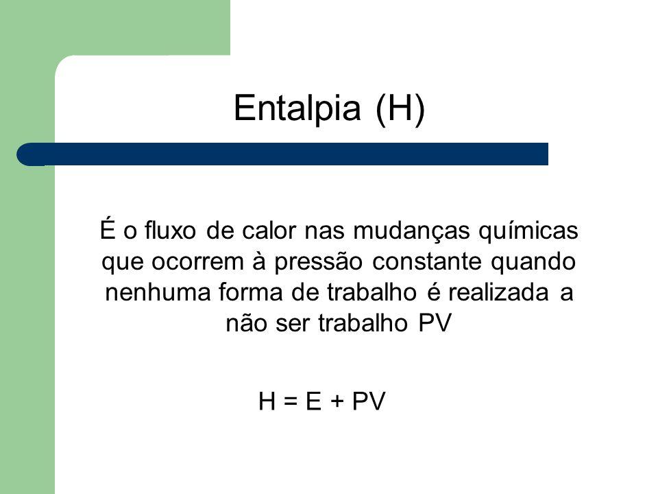 Entalpia (H)