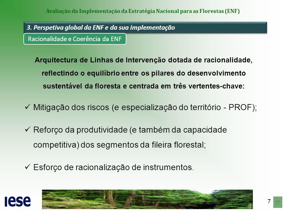 Racionalidade e Coerência da ENF