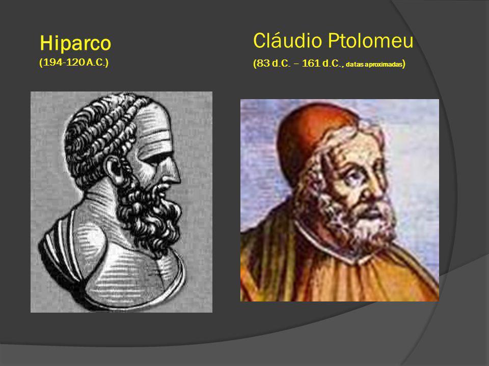 Hiparco Cláudio Ptolomeu (194-120 A.C.)