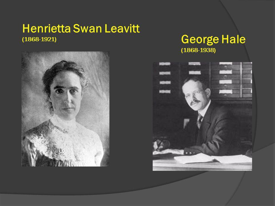 Henrietta Swan Leavitt George Hale