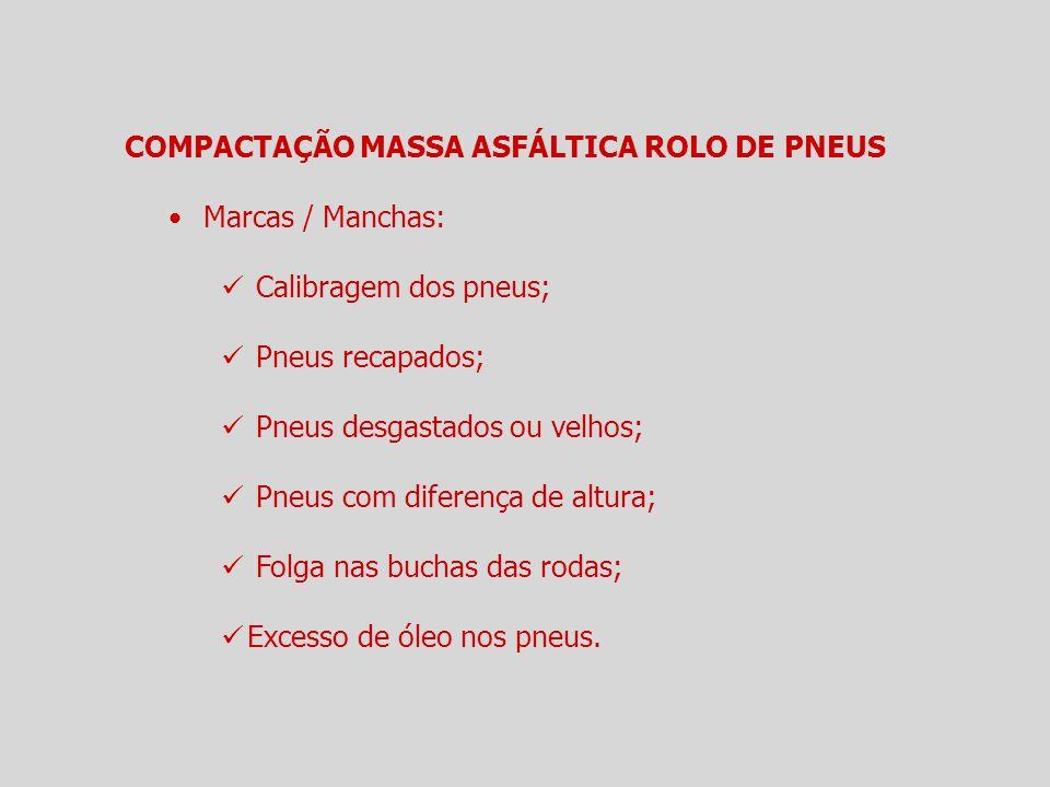 COMPACTAÇÃO MASSA ASFÁLTICA ROLO DE PNEUS