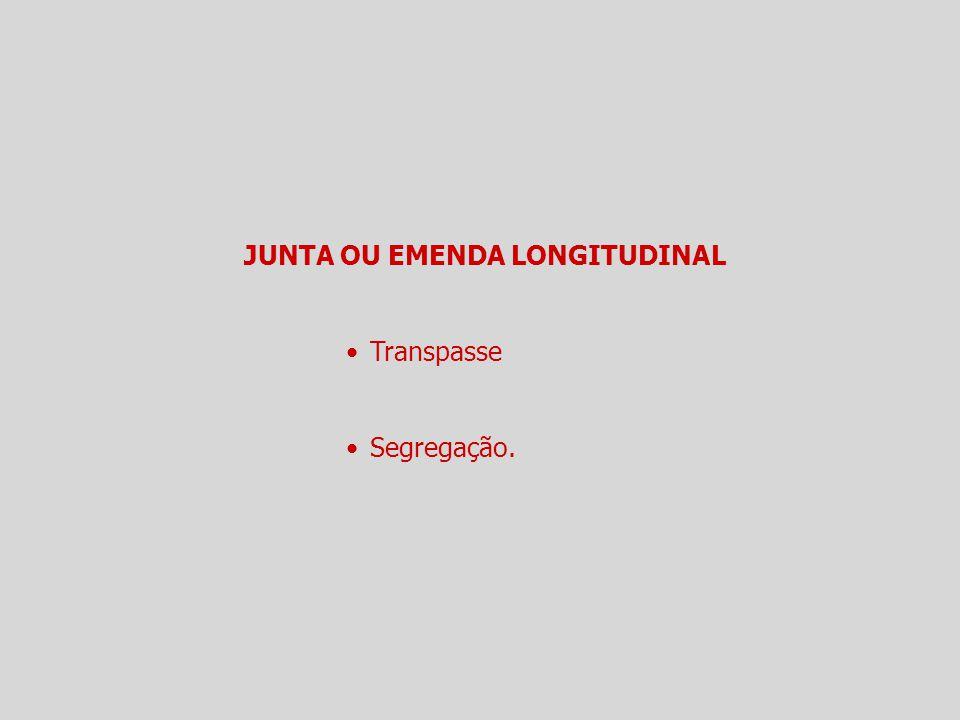 JUNTA OU EMENDA LONGITUDINAL