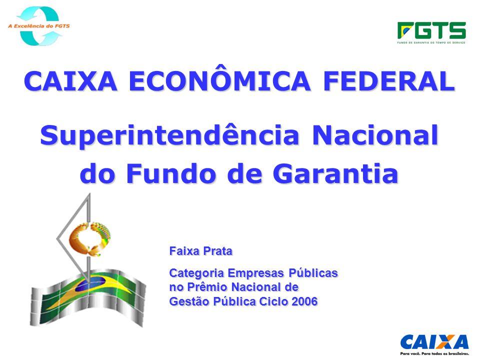 CAIXA ECONÔMICA FEDERAL Superintendência Nacional do Fundo de Garantia
