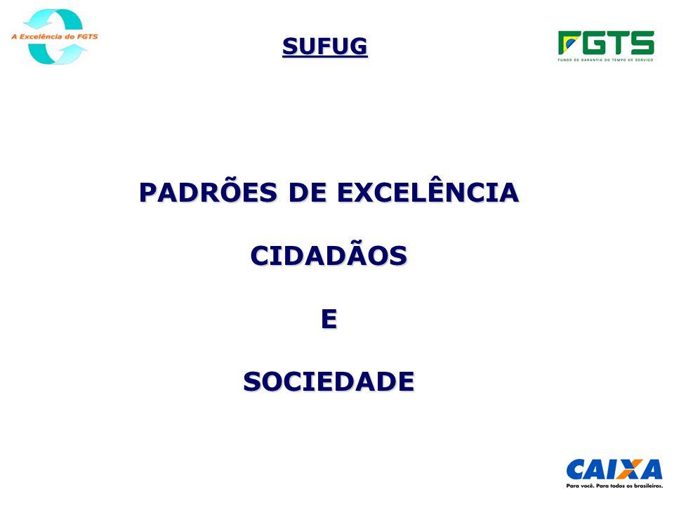 PADRÕES DE EXCELÊNCIA CIDADÃOS E SOCIEDADE