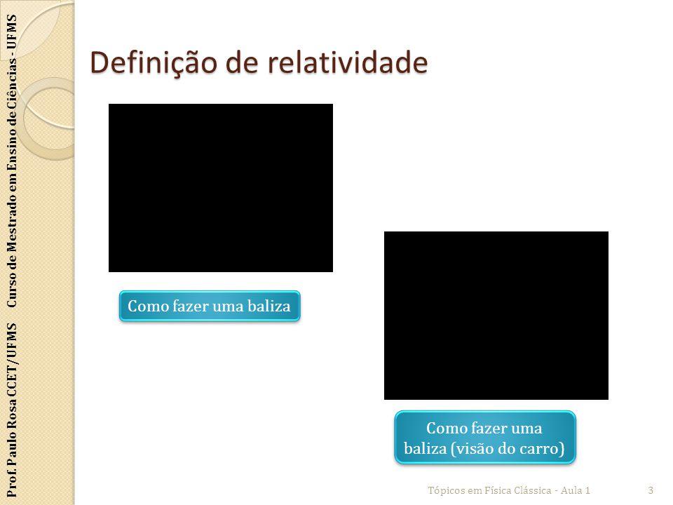 Definição de relatividade