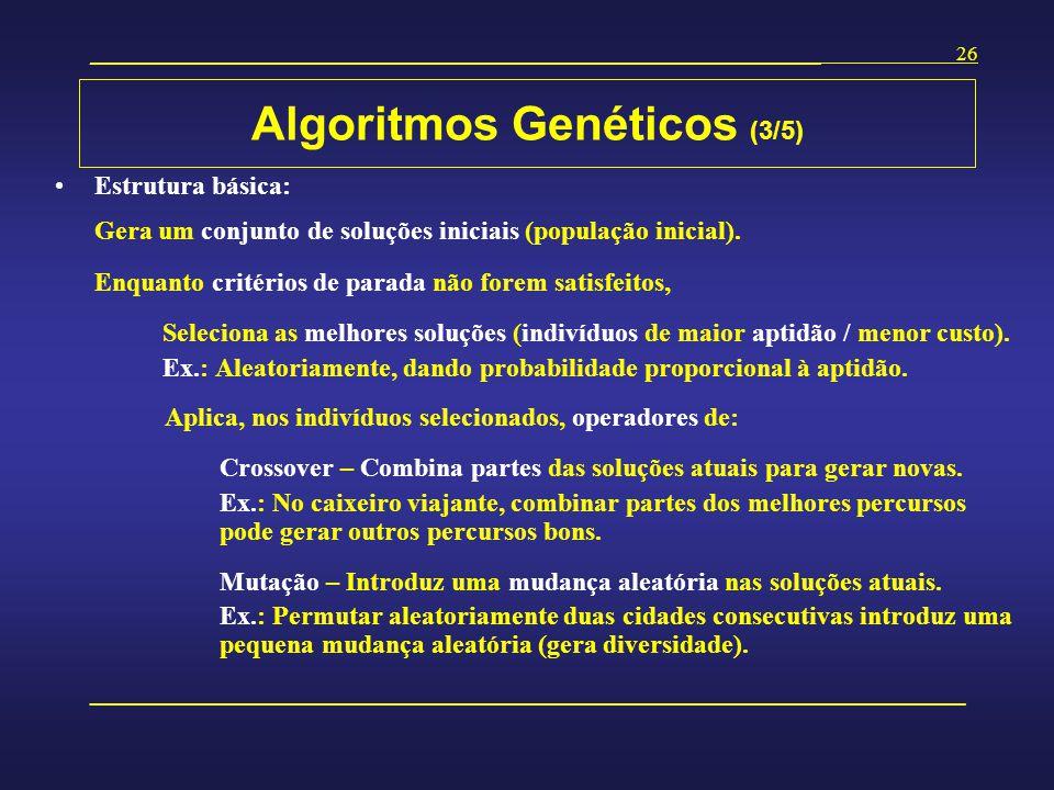 Algoritmos Genéticos (3/5)