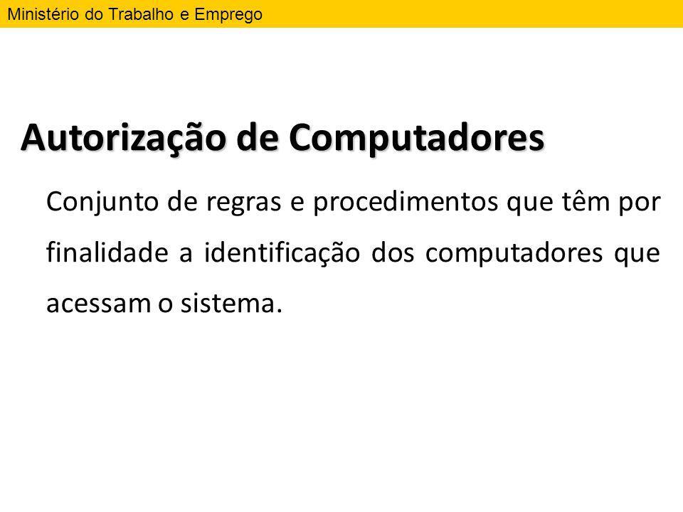 Autorização de Computadores