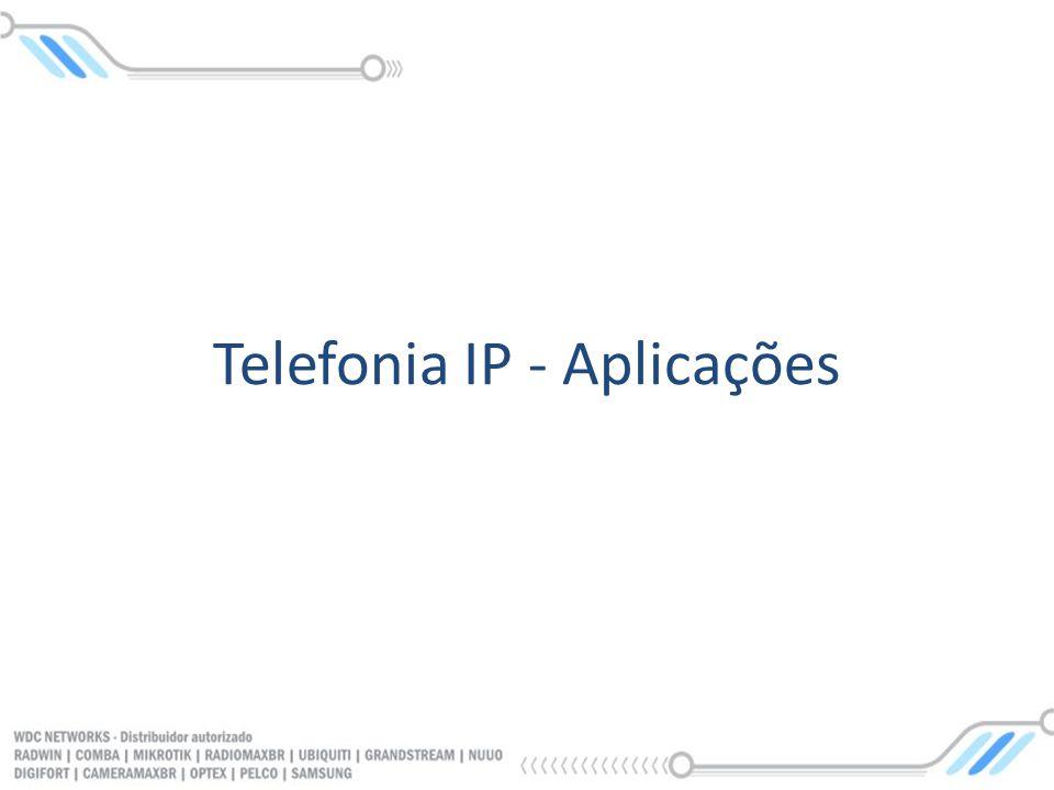 Telefonia IP - Aplicações