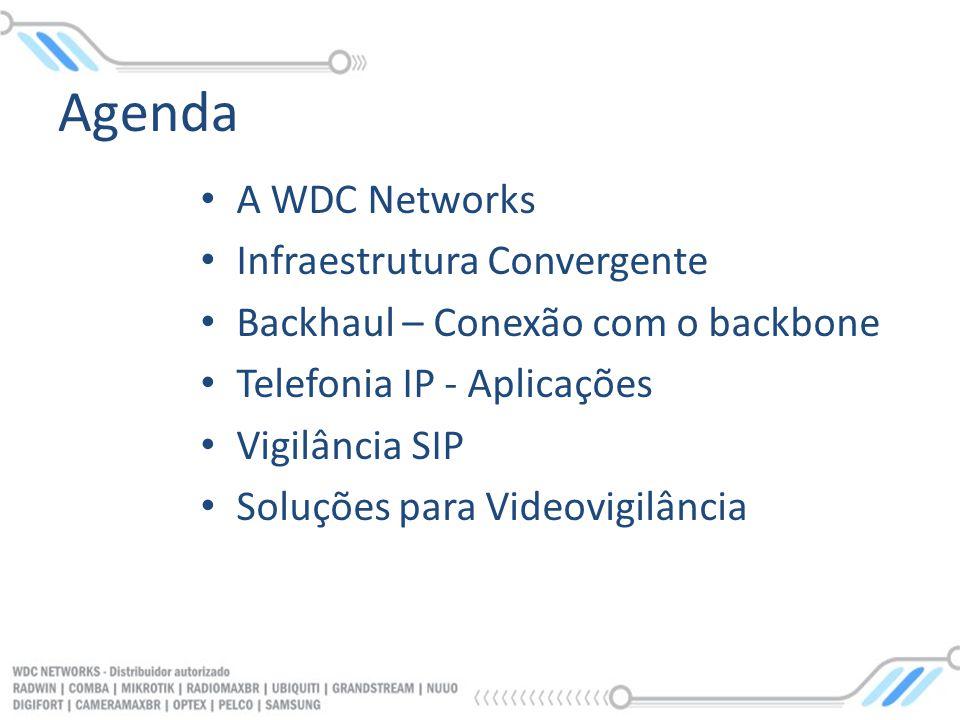 Agenda A WDC Networks Infraestrutura Convergente