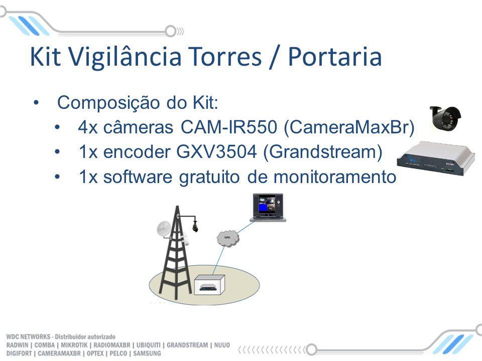 Kit Vigilância Torres / Portaria
