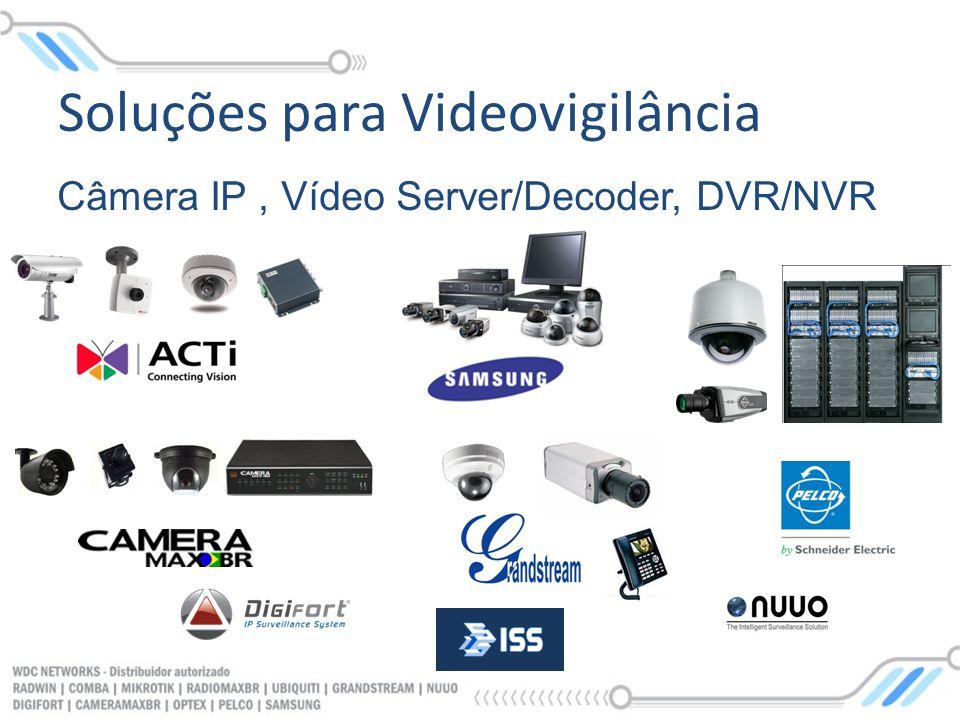 Soluções para Videovigilância