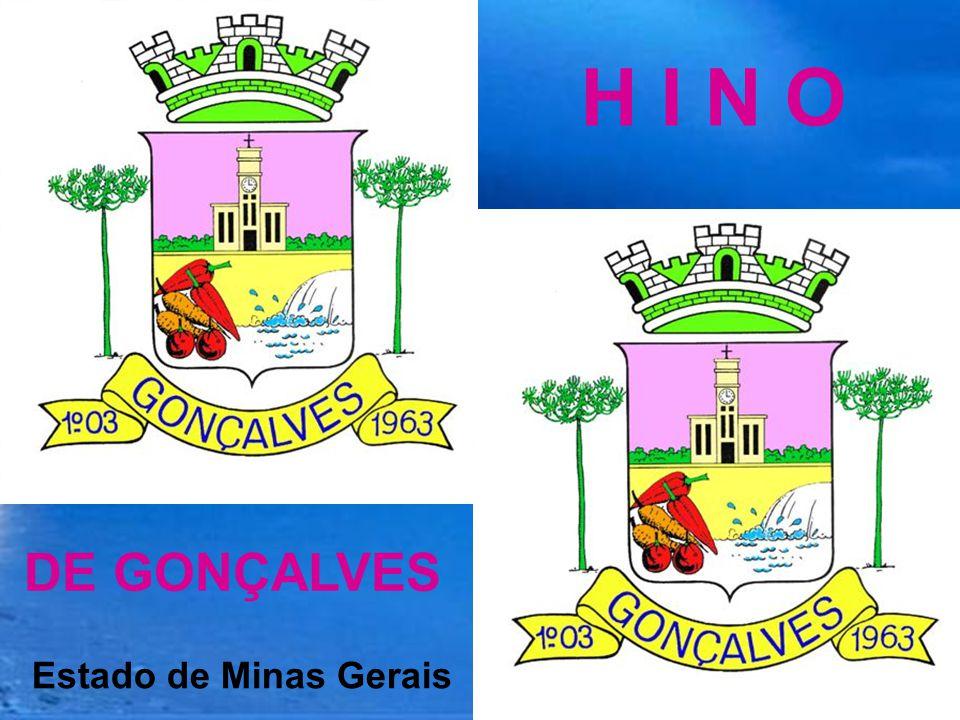 H I N O DE GONÇALVES Estado de Minas Gerais