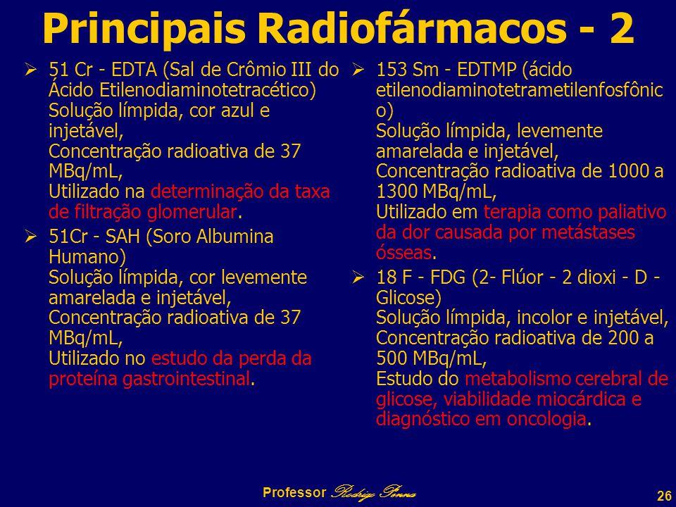 Principais Radiofármacos - 2