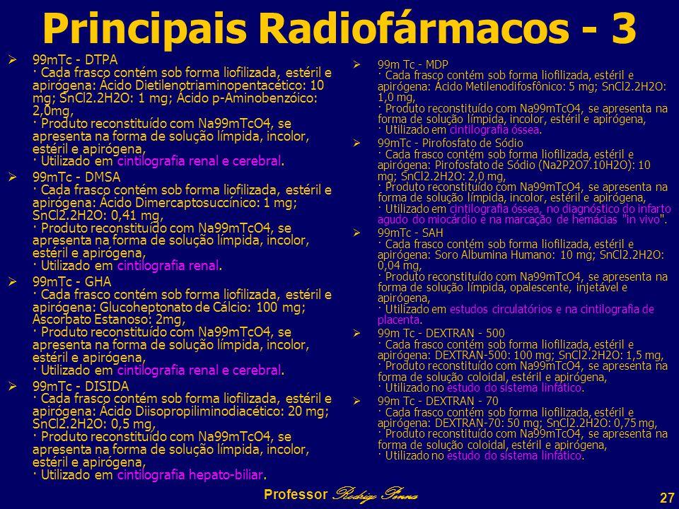 Principais Radiofármacos - 3