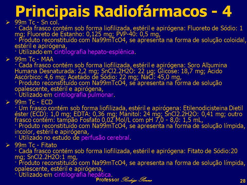 Principais Radiofármacos - 4