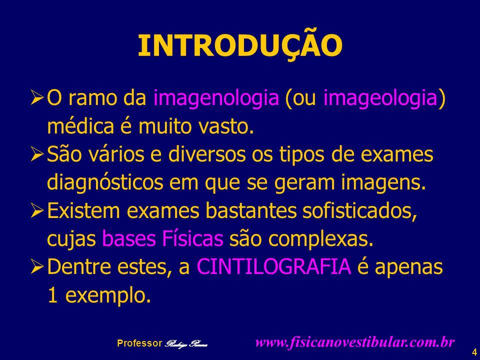 INTRODUÇÃO O ramo da imagenologia (ou imageologia)