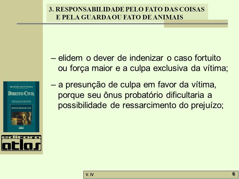 – elidem o dever de indenizar o caso fortuito ou força maior e a culpa exclusiva da vítima;