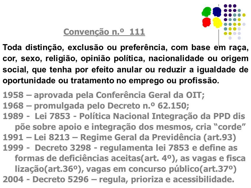Convenção n.º 111