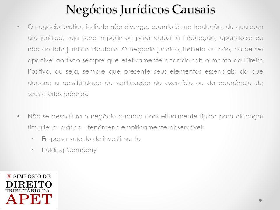 Negócios Jurídicos Causais