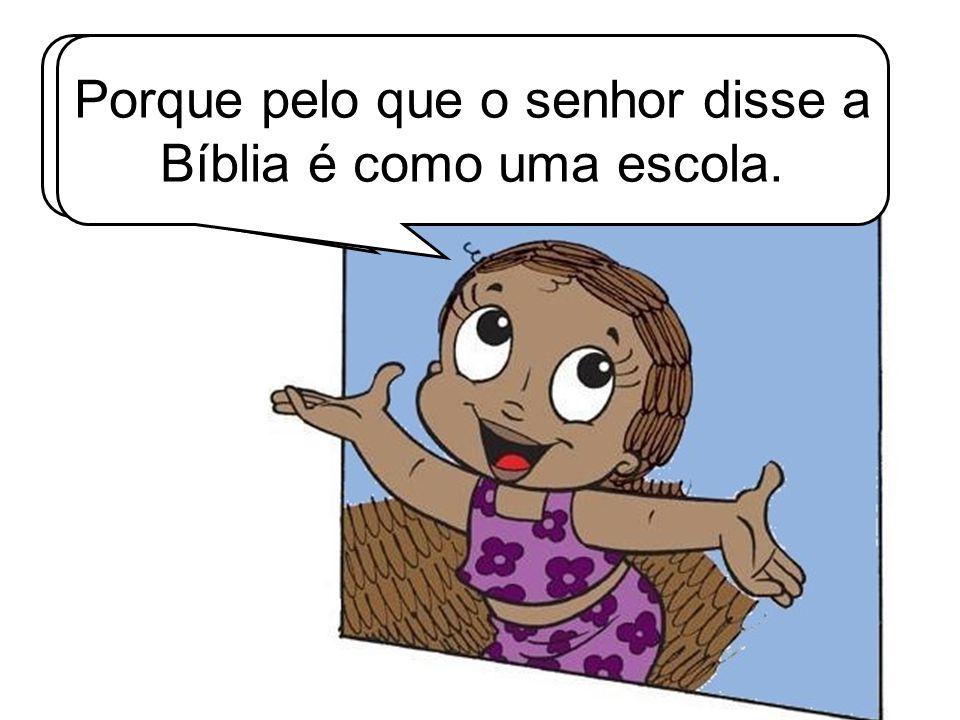 Então o certo é lermos a Bíblia sempre.