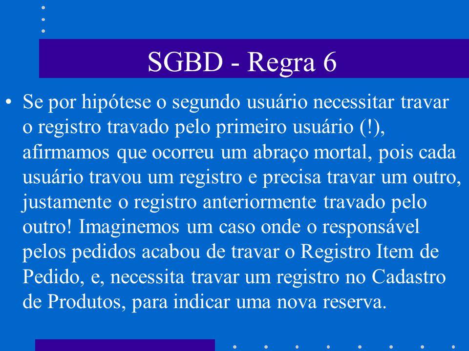 SGBD - Regra 6