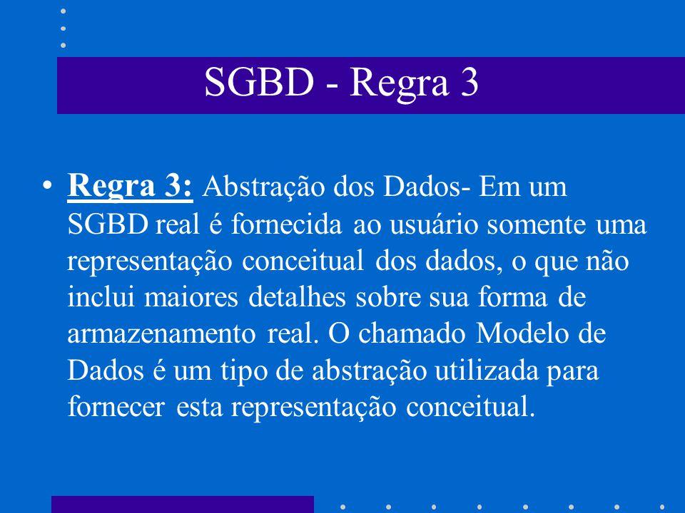 SGBD - Regra 3