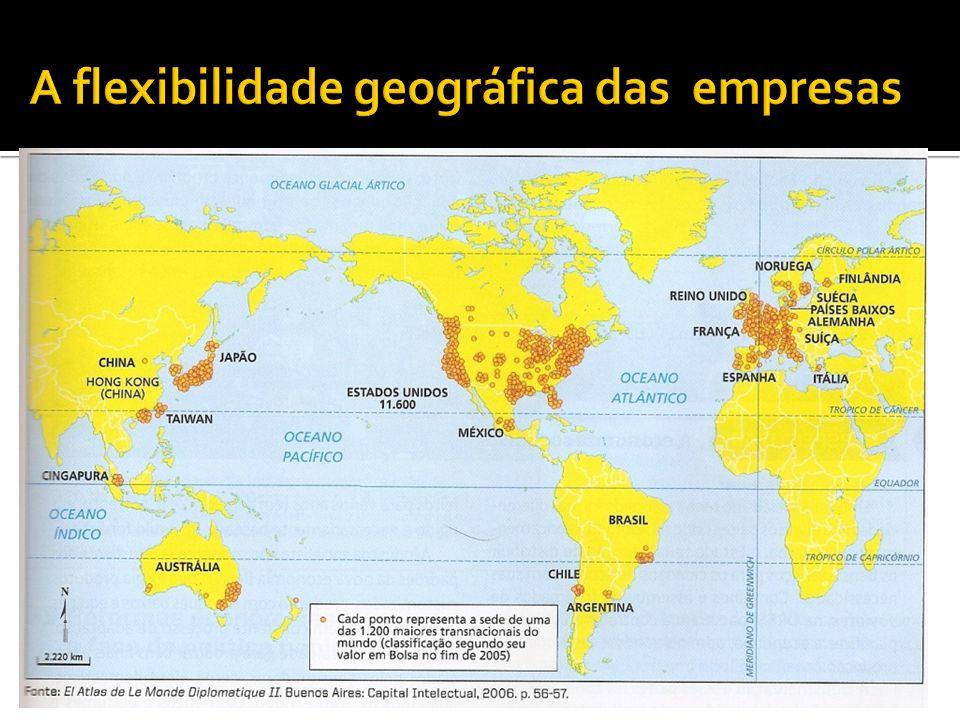 A flexibilidade geográfica das empresas