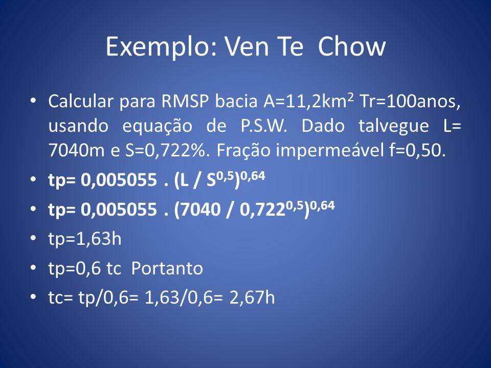 Exemplo: Ven Te Chow