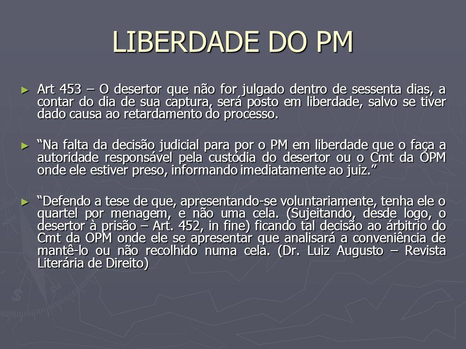 LIBERDADE DO PM
